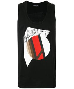 Neil Barrett | Geometric Print Tank Size Medium