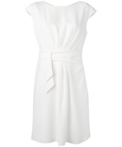 Armani Collezioni | Belted Draped Dress