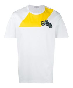 Salvatore Ferragamo   Motorcycle Embroidered T-Shirt
