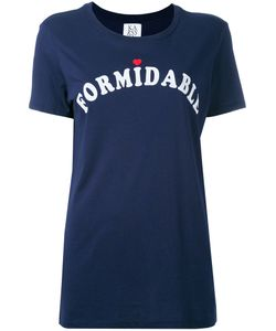 Zoe Karssen | Formidable Print T-Shirt Size Small
