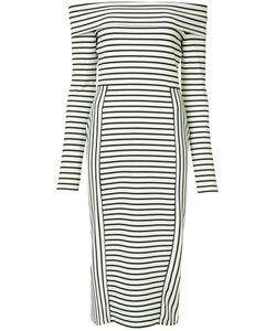 Derek Lam 10 Crosby | Striped Bardot Dress