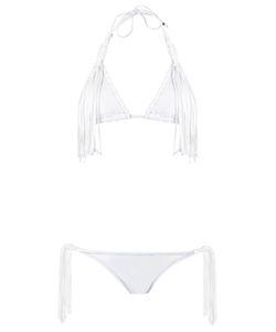 Amir Slama   Fringed Bikini Set G Elastodiene