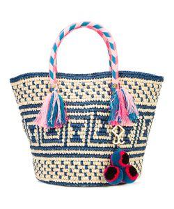 Yosuzi | Manya Tassel Rope Tote Cotton