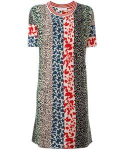 Sonia Rykiel | Patchwork Knit Dress Small