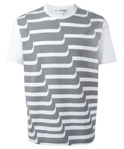 Comme Des Garçons | Shirt Striped T-Shirt Medium Cotton