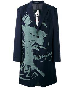 Yohji Yamamoto | Printed Blazer Midi Coat