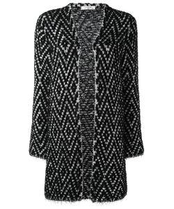 Lanvin | Knitted Longline Cardigan