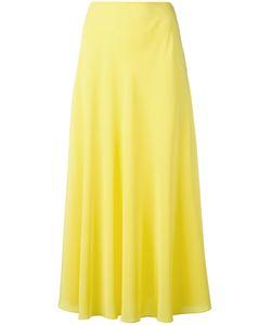 Cédric Charlier | A-Line Midi Skirt 42 Silk