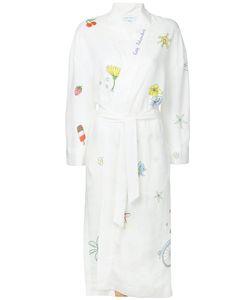 Mira Mikati   Embroidered Robe