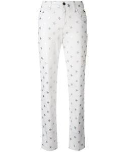 Just Cavalli | Star Print Cropped Jeans