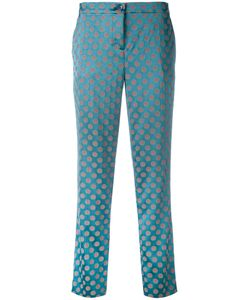 Etro | Circles Print Cropped Trousers Size 44
