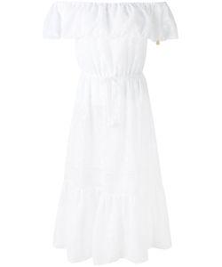 Blumarine | Frill Bardot Dress 46