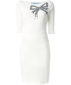 Blumarine   Sequin Bow Dress Size 42