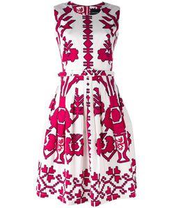 Samantha Sung | Sleeveless Printed Dress Size 8