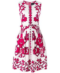 Samantha Sung | Sleeveless Printed Dress