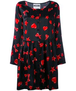 Moschino | Heart Star And Lip Print Dress