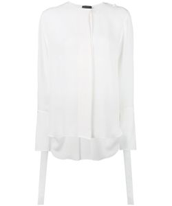 Calvin Klein Collection | Concealed Fastening Sheer Shirt