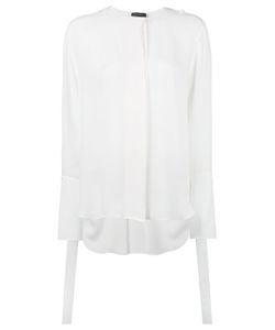 Calvin Klein Collection   Concealed Fastening Sheer Shirt
