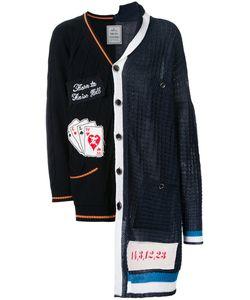 Mihara Yasuhiro | Miharayasuhiro Combined Knit Cardigan 46 Cotton/Acrylic
