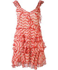 The Kooples   Jasmine Print Ruffle Dress