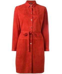 Kiton   Belted Shirt Dress 42
