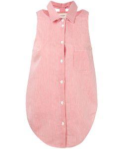 Nanushka | Sleeveless Striped Shirt M