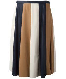 Drome | Striped Pleated Skirt Size Medium