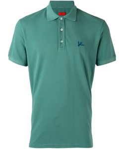 Isaia | Embroidered Polo Shirt M