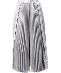 Comme Des Garçons Noir Kei Ninomiya | Cropped Pleated Trousers