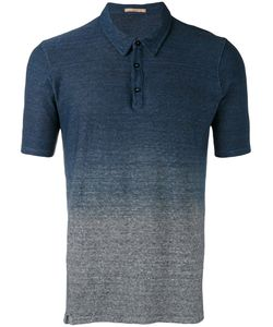 Nuur | Gradient Effect Polo Shirt