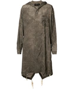 Uma Wang | Pattern Long Hoodie Medium Cupro