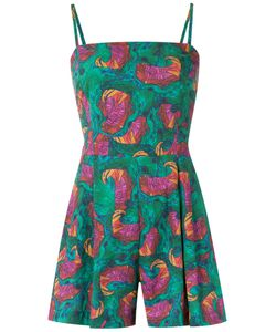 Isolda   Abstract Print Playsuit 42