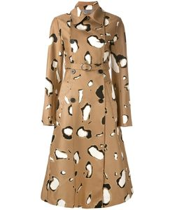 Sportmax | Printed Belted Coat Size 40