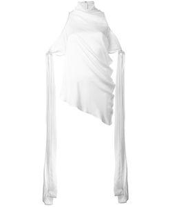 Ellery | Draped Asymmetric Blouse 10