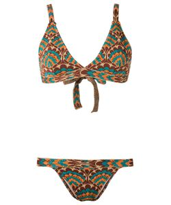 Gig | Printed Bikini Set P Lurex/Polyamide