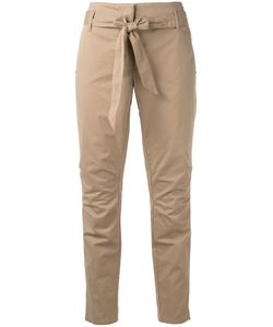 Luisa Cerano | Belted Cropped Trousers Size 38