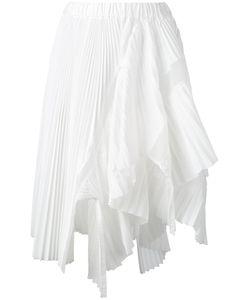 Sacai | Asymmetric Micro Pleated Skirt Size 2
