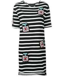 Michaela Buerger | Knitted Patches Striped Dress Size Small