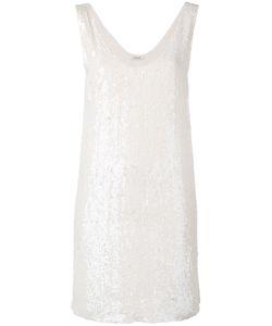P.A.R.O.S.H. | P.A.R.O.S.H. Sequin Shift Dress Size Medium