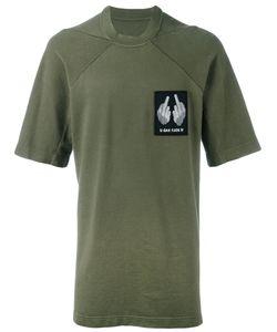 11 By Boris Bidjan Saberi | Chest Patch T-Shirt