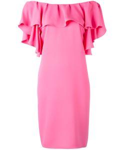 P.A.R.O.S.H. | P.A.R.O.S.H. Ruffled Off-Shoulders Dress Size Medium
