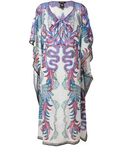 Roberto Cavalli | Multi-Print Shift Dress