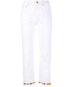 Forte Couture | Pom Pom Trim Jeans