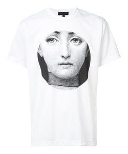 Comme Des Garçons Homme Plus   Face Print T-Shirt Size Medium