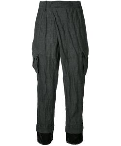 A.F.Vandevorst   Pocket Cropped Trousers Women Cotton/Polyester/Metal Other