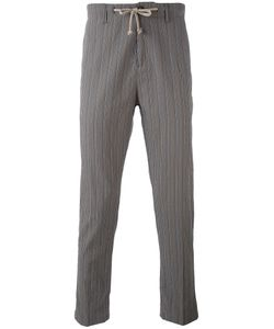 Paolo Pecora | Striped Tapered Trousers Men