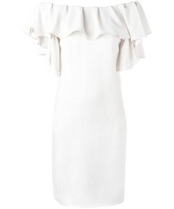 P.A.R.O.S.H. | P.A.R.O.S.H. Ruffled Off-Shoulders Dress Size Xs