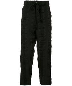 Uma Wang | Drawstring Loose Fit Trousers Large Cotton/Linen/Flax