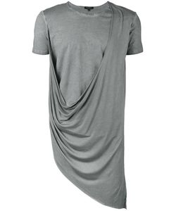 Unconditional | Asymmetric Draped Double Front T-Shirt