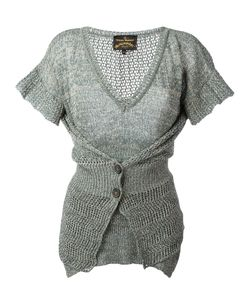 Vivienne Westwood Anglomania | Layered Buttoned Knitted Blouse Size Large